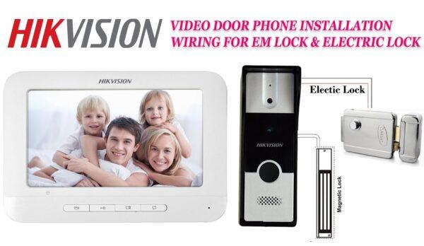 video door phone hikvision